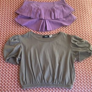 Urban Outfitters Bundle, 2 Summer Crop Tops, NWOT